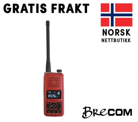 Brecom VR-3500 Digital, Analog, digital radiopakke.