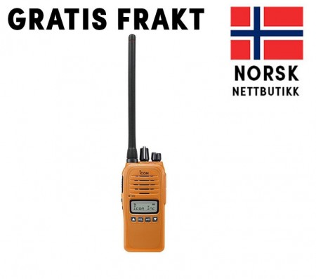 Icom Prohunt Compact - Sikringsradio m/GPS