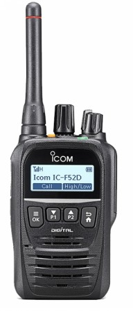 Icom Prohunt F52D Digital jaktradio