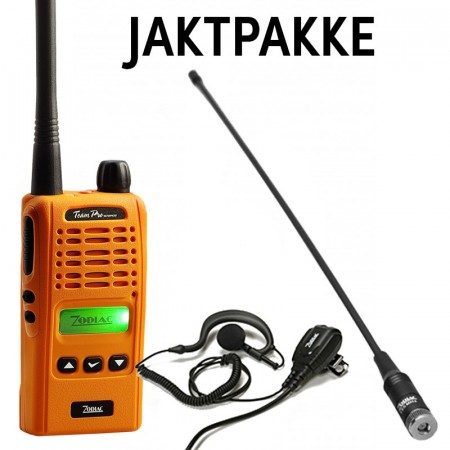 Zodiac Team Pro Waterproof (27 MHz) pakke